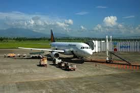 フィリピン空港と飛行機